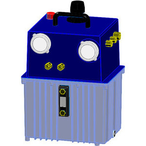 These air hydraulic pumps are designed for various hydraulic applications, especially for intermittent operation. By connecting a 3/2-way or 4/2-way pneumatic valve, the built-in hydraulic valves for stroke and backstroke can be actuated