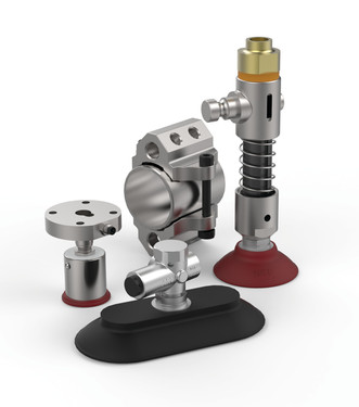 Destaco offers a wide range of vacuum products to meet the needs of our customers.  From vacuum cups, to venturis, to spring cup mounts and manifolds, our products offer safe and efficient handling.
