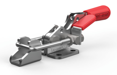 Destaco's 323 Series pull action latch clamps are equipped with latch plate and patented thumb control lever for one handed operation.