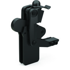 Destaco's 505-MLBLSC Series vertical, weldable hold down toggle locking clamps feature a modular design, weldable clamping arm, and long base with locking spring clip.
