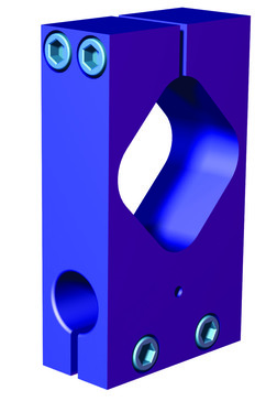 Destaco's M-60B Series of transition brackets are octagonal tooling components that to extrusion and round tubing.