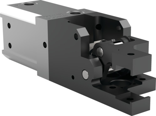 Destaco's 84L3-24 Series medium-duty, modular cam-style pressroom gripper is non-locking and can be used vertically or horizontally.