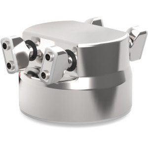 This gripper series is designed for direct product contact in the food zone, according to the food industry standard.