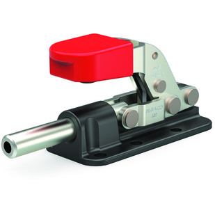 Destaco's 630-R Series straight line action clamps feature reverse handle action, a plunger that locks in the extended position as the handle is moved downward, and Toggle Lock Plus capability.