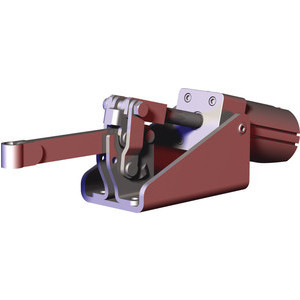 Destaco's 847 Series pneumatic toggle clamps feature built-in flow restriction that eliminates the need for external flow controls, have switch ready capability for Ø4mm or 6,5mmX5mm sensors, and function as the pneumatic version of the Series 247 manual clamps.