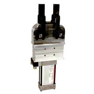 Destaco's 82D Series pneumatic power clamps feature a compact, enclosed design and a light-weight aluminum body.