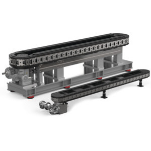 Destaco Precision link conveyors provide designers and engineers with a multiple-station chassis for the assembly of more complicated products.