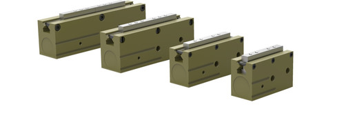 Destaco's RPL-3 Series of low profile, parallel grippers are designed for small parts handling and available in 4 sizes.