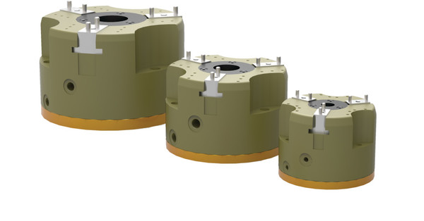 Destaco's PPC-25 Series of 3-jaw parallel grippers are designed for multipurpose, robust applications.
