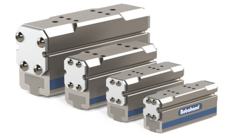 Destaco's G-100 Series of parallel grippers for original equipment manufacturers (OEMs) are available in 20 different models and sizes.