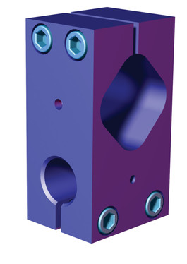 Destaco's M-40M Series of double bolt clamp blocks are designed for tube sizes 60 mm to 40mm.