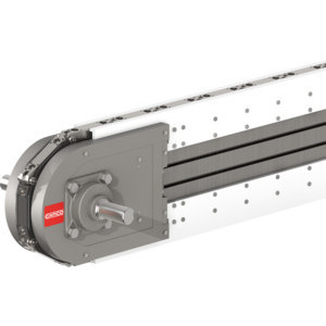 The Camco 75RL Series Rite-Link Conveyor is a thin-profile, preassembled, precision link system offering maintenance free accuracy and durability for industrial conveying applications.