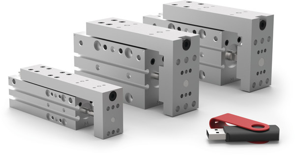 Destaco's DLM Series of slides offer up to 8 position sensing options and adjustable precision stops.