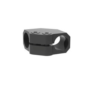 Wrist clamps for lightweight tooling connect two tubes perpendicular to each other in a low profile design, making these T-Clamps ideal for tight spaces.