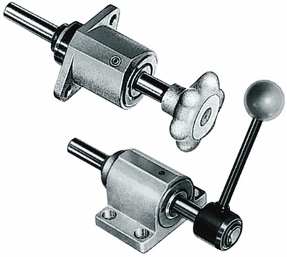 Destaco's FL-122-45 Series of variable stroke, straight line action clamps are designed for one-hand operation.