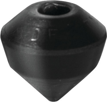 Destaco's polyurethane caps with cone tips are available in a range of spindle diameters and cap heights/widths.
