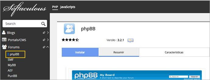 phpBB – Um software para fórum de discussões