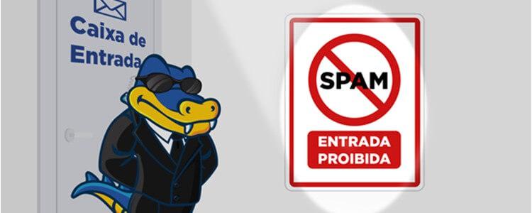 Como utilizar a proteção contra Spam no e-mail