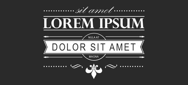 como utilizar o lorem ipsum