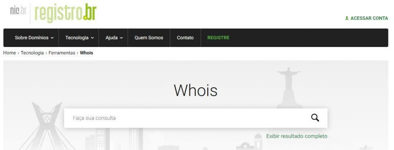 O que é Whois?