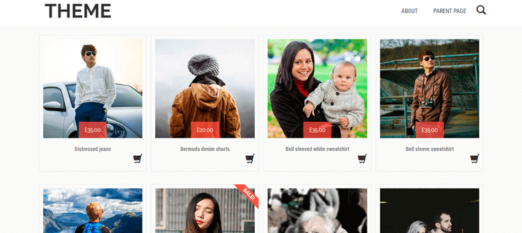 Tem WordPress Shopera