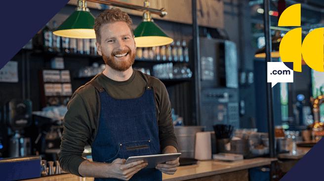 Domínio para bares e restaurantes