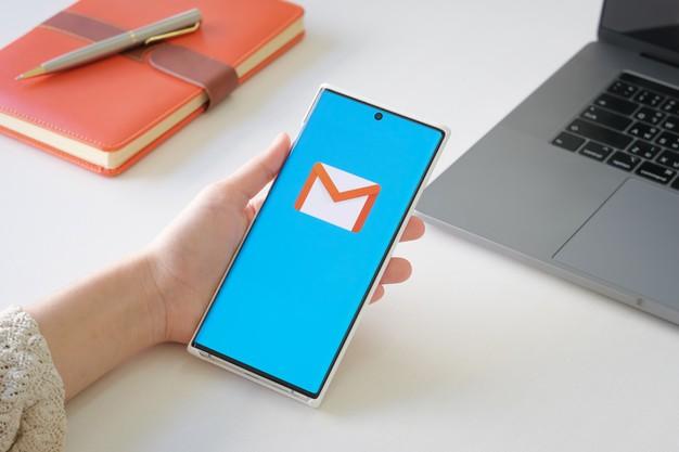 Acessando o Gmail para configurar o SMTP - HostGator