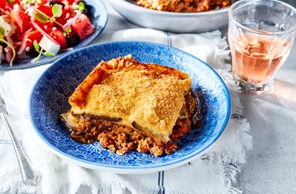 Photo de la recette de Moussaka au porc haché