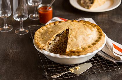 Photo de la recette de Tourtière du Lac St-Jean