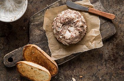 Photo de la recette de Tête fromagée