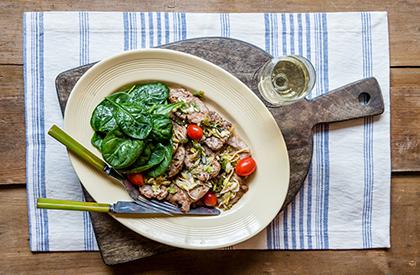 Photo de la recette de Filet de porc sucré-vinaigré