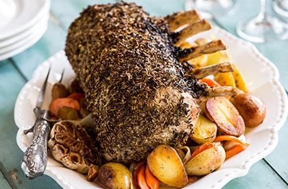 Photo de la recette de Carré de porc à l'italienne