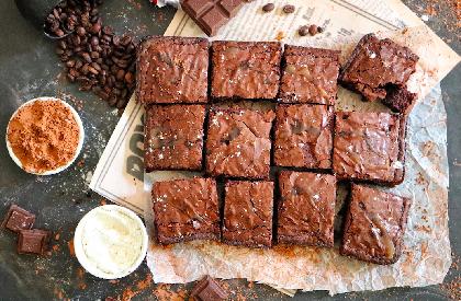 Photo de la recette de Brownie au bacon Las Olas