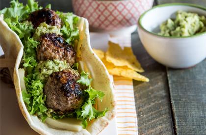 Photo de la recette de Burgers aztèques