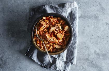 Photo de la recette de Cassoulet de porc