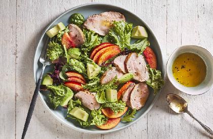 Photo de la recette de Salade de filets de porc des Caraïbes