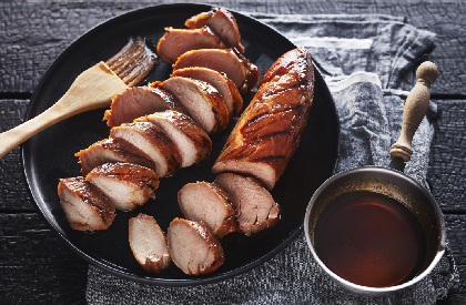 Photo de la recette de Filets de porc BBQ à l'érable