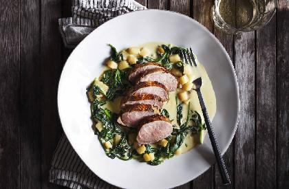 Photo de la recette de Filets de porc à la bière et à la moutarde