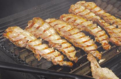 Photo de la recette de Flanc de porc de BBQ Québec