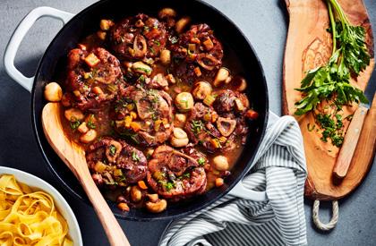 Photo de la recette de Porc au vin
