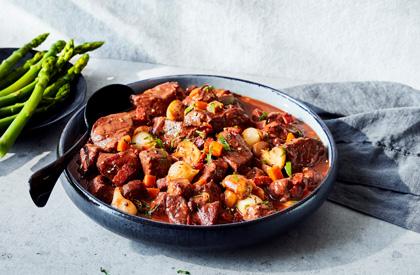 Photo de la recette de Porc bourguignon
