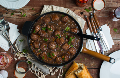 Photo de la recette de Ragoût de boulettes et pattes de cochon