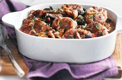Photo de la recette de Osso buco de porc aux champignons