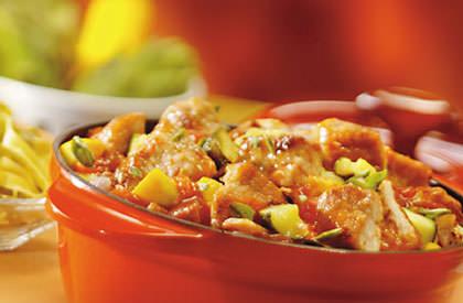 Photo de la recette de Mijoté de porc aux fines saveurs
