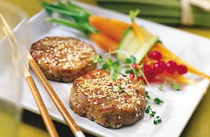 Photo de la recette de Croquettes de porc haché à la chinoise
