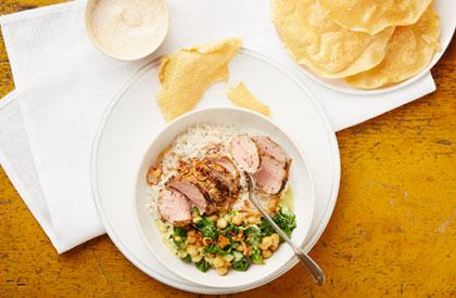 Photo de la recette de Filets de porc Tikka
