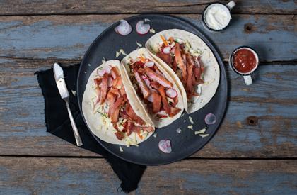 Photo de la recette de Soc de porc croustillant