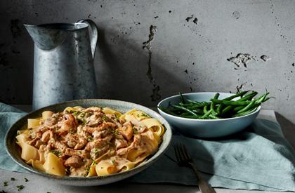 Photo de la recette de Porc stroganoff