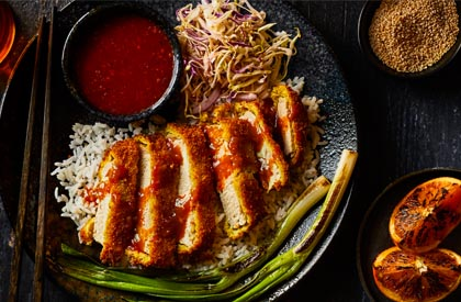 Photo de la recette de Porc Tonkatsu