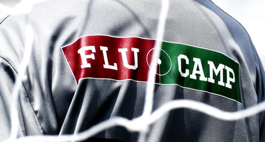 Flu camp banner